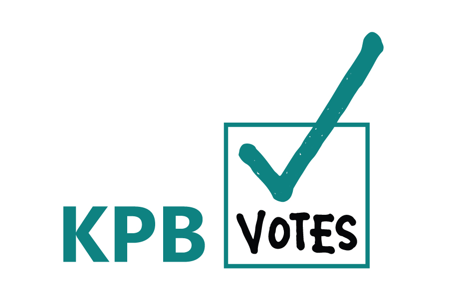 KPB Votes logo two color