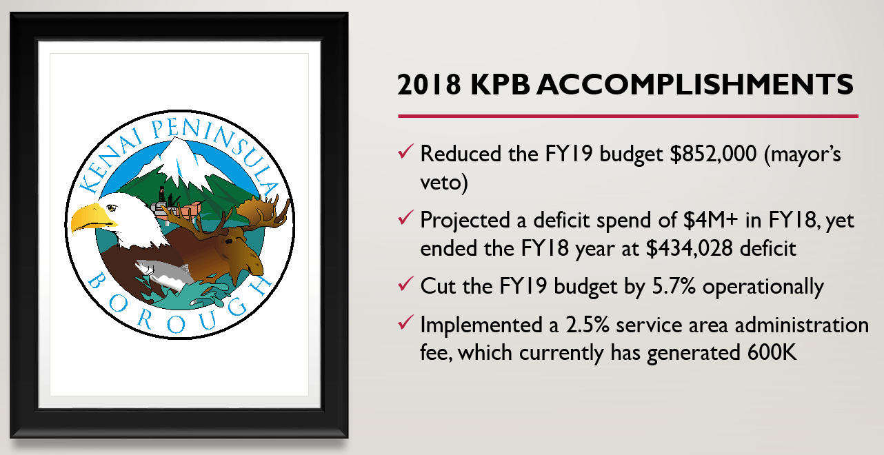 2018 KPB Accomplishments Cover