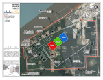 LNG plant site map